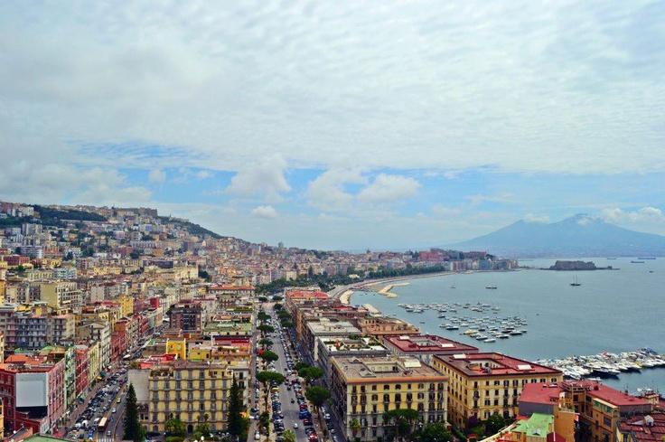 Naples and Vesuvio