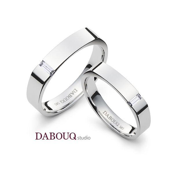 Dabouq Studio Couple Ring - DR0015 - Simple+ #DABOUQ #Jewelry #쥬얼리 #CoupleRing #커플링 #ProposeRing #프로포즈링 #프로포즈반지 #반지 #결혼반지 #Dai반지 #Diamond #Wedding_Ring  #Wedding_Band #Gold #White_Gold #Pink_Gold #Rose_Gold