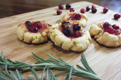 Yuka + CREW - Bake This NOW: Yuka's Parmesan Rosemary Cookies...