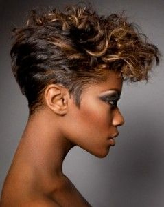Short Wavy Hairstyles Black Women
