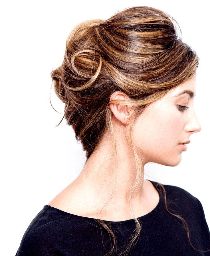 We've got the perfect French twist hair tutorial for you to try this holiday season!
