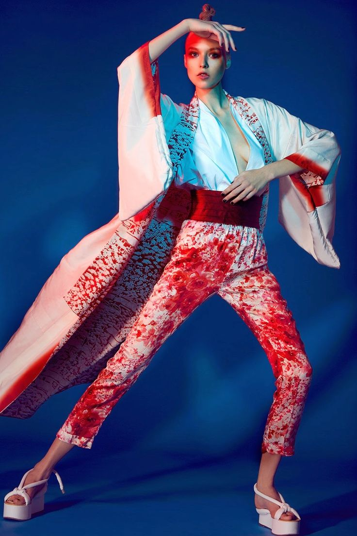 """""""Jap Mania"""" by Jamie Nelson for Glamour Italia April 2015"""