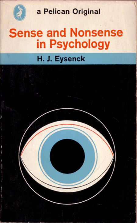 Vintage psycology book covers by Penguin Books.