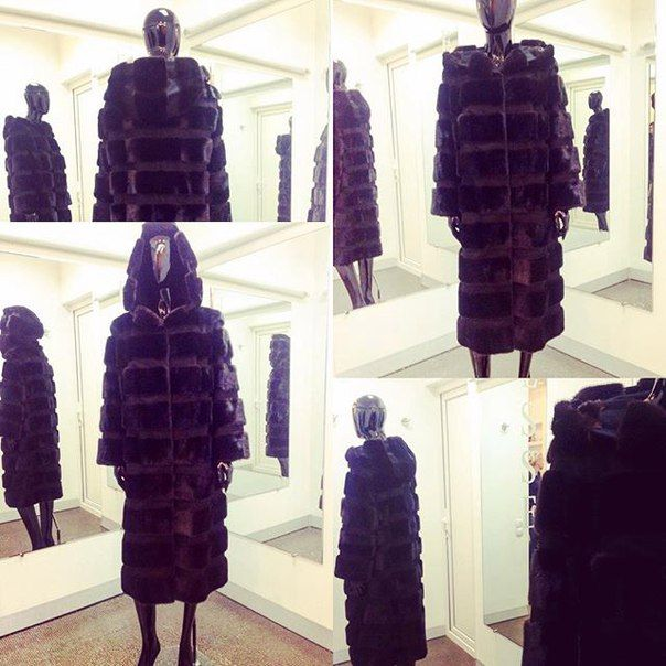 Пальто из меха норки аукцион Kopenhagen Fu   #essedesignua #норка #норковаяшуба #норковыешубы #fashion