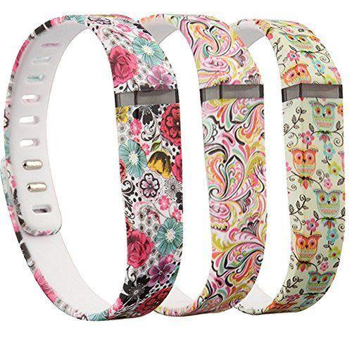 RedTaro 3PCS Replacement Bands for Fitbit FLEX Only / Fitbit Band / Fitbit Flex Band / Fitbit Wristband / Fitbit Flex Wristband / Fitbit Bracelet