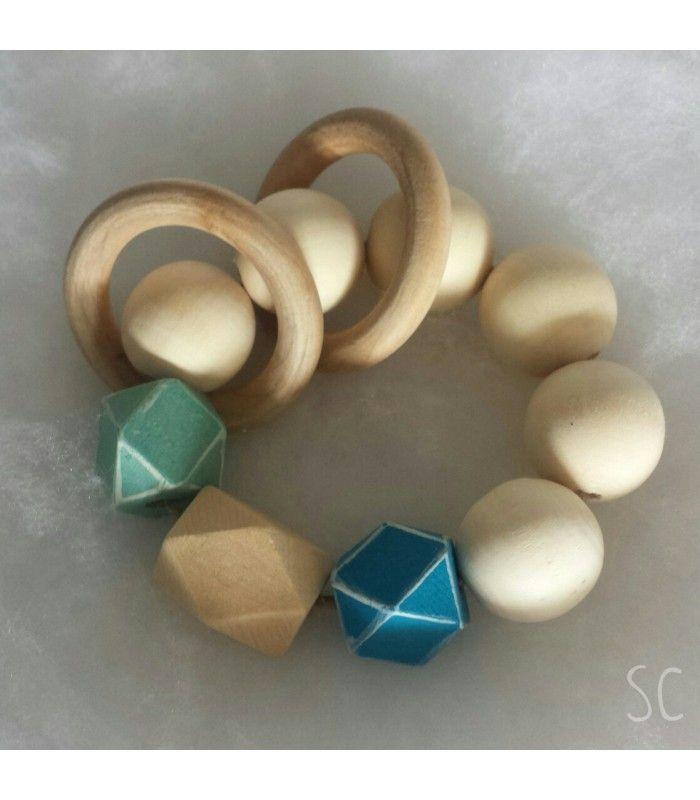 Sonajero de madera
