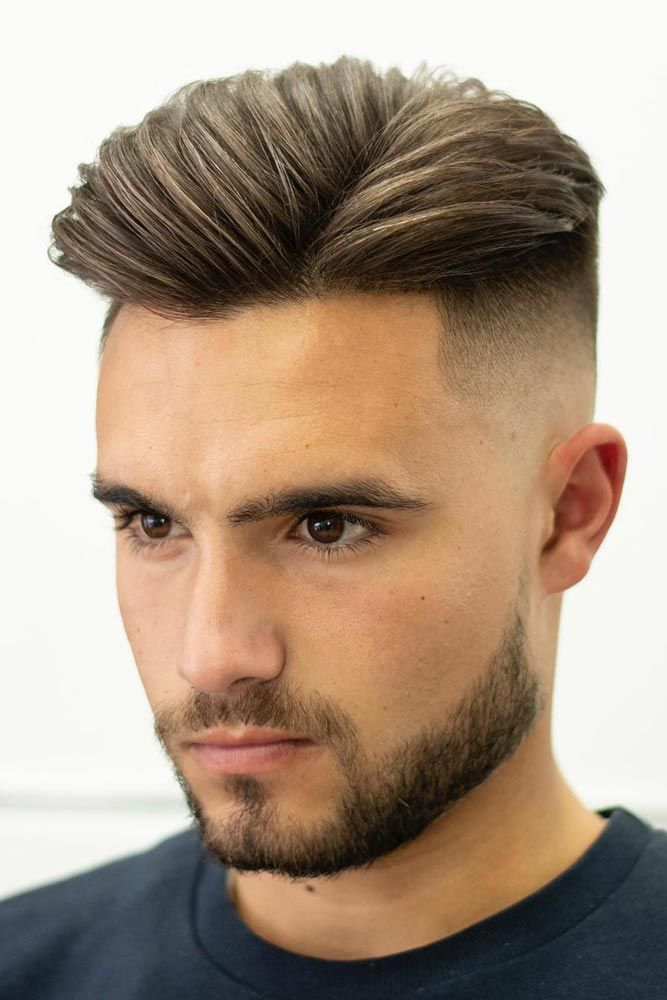 Versatile Goatee Beard Styles For Real Men Lovehairstyles Com Mid Fade Haircut Side Part Haircut Beard Styles