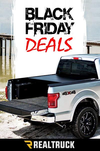 Black Friday Deals begin Nov. 23rd. Shop RealTruck.com for a large selection of tonneau covers. We carry everything from TruXedo to BackFlip, with a variety of styles including retractable, roll-up, hard folding and many more. We have truck bed cover solutions for all your needs. Shop now for our best deals of the year. Hurry, sale ends soon!