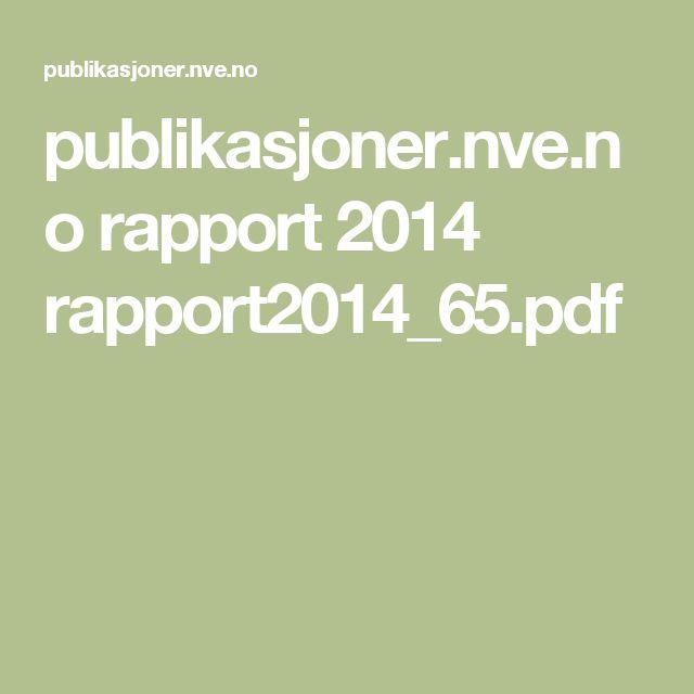 publikasjoner.nve.no rapport 2014 rapport2014_65.pdf