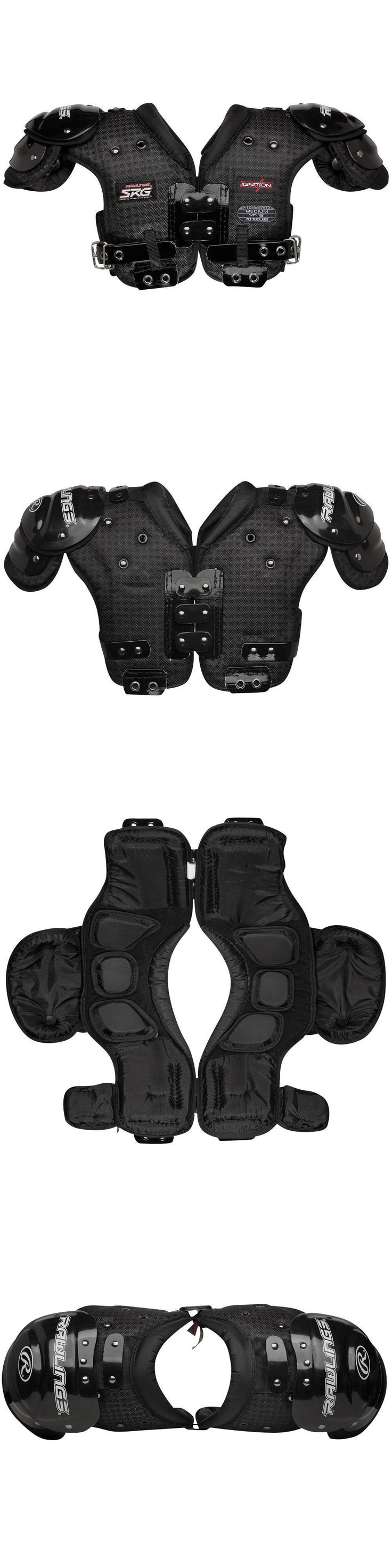 Protective Gear 21224: New Rawlings Youth Ignition Football Shoulder Pads - Ignition - Various Sizes -> BUY IT NOW ONLY: $69.99 on eBay!