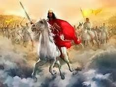 """Revelation 19:11-16, """"I saw heaven standing open and there before me was a white horse, whose rider is called Faithful and True. With ju..."""