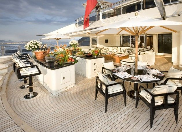 Yacht Alpha Nero