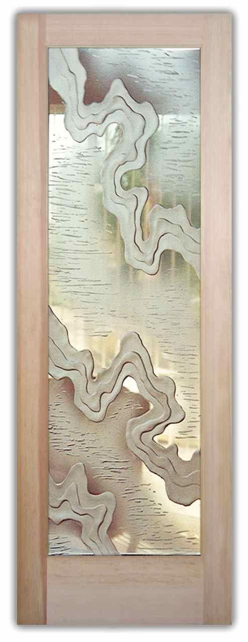Streams 3D Glass Door By Sans Soucie Art Glass. Interior Glass DoorsInternal  ...