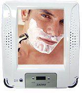 Zadro ZRA01 Fogless Shaving Shower Mirror Radio with Clock by Zadro  http://www.60inchledtv.info/tvs-audio-video/radios/shower-radios/zadro-zra01-fogless-shaving-shower-mirror-radio-with-clock-com/