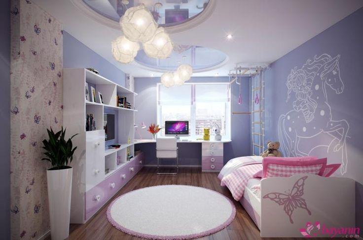Çocuk odası duvar boyaları