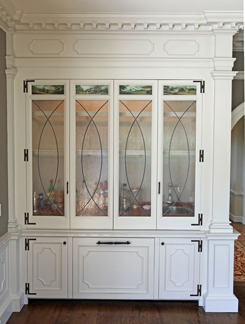 Federal Style Built In Wet Bar For The Home Pinterest
