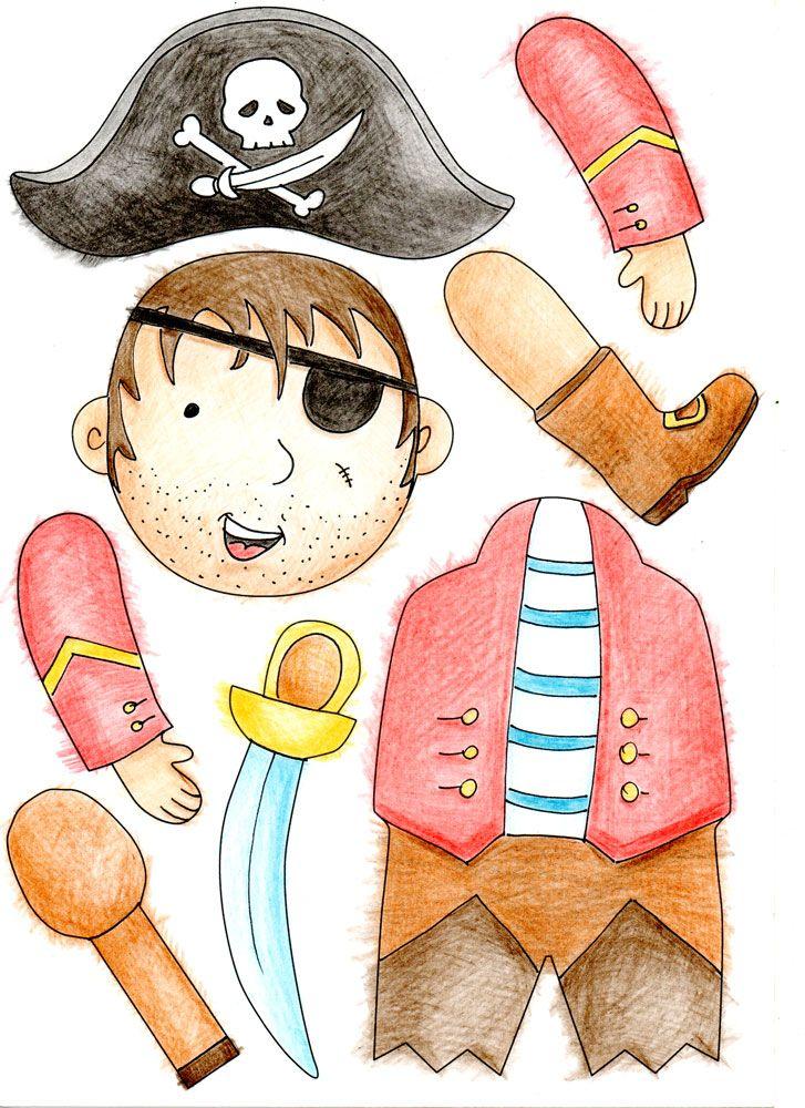 Les pantins de pirate | Atelier Créatif