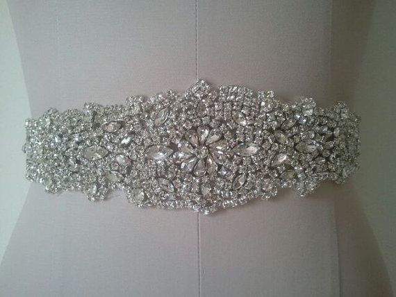 Best 25 wedding belts ideas on pinterest bridal belts for Rhinestone belts for wedding dresses