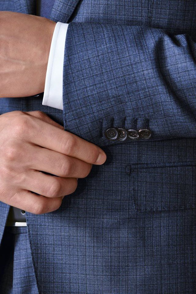 Precise attention to detail ensure the ultmate sartorial finish