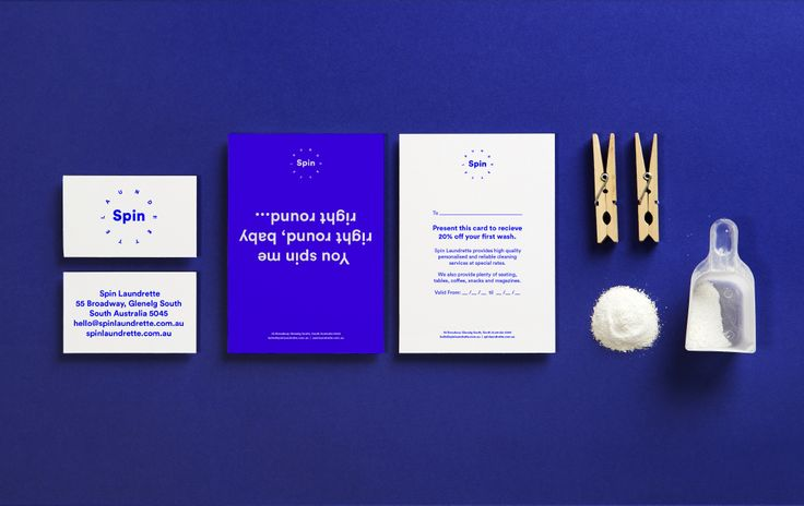 Spin Laundrette — Stationery