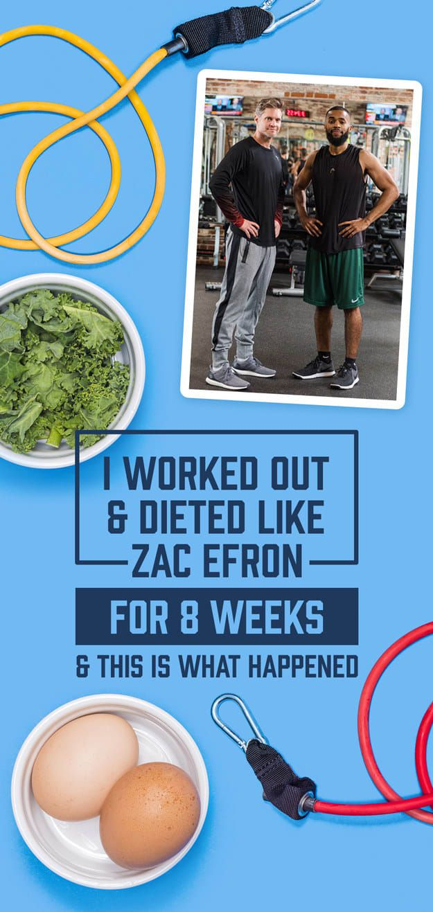 I Worked Out And Dieted Like Zac Efron For Two Months And Here's What Happened