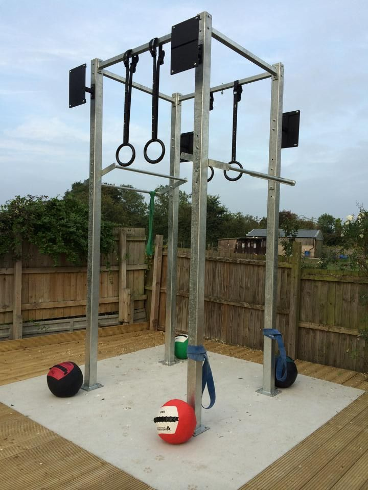 Outdoor Crossfit Rig   Google Search