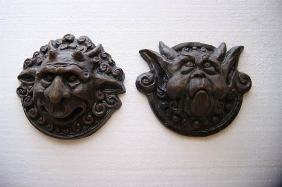 Replica Hand Cast Labyrinth Door Knockers Props - From Jim Henson's Labyrinth Film