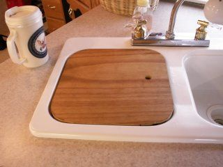 Sink Cover : RV NOW: Sink Covers: Wood Sinks, Cutting Boards, Covers Diy, Shorts ...
