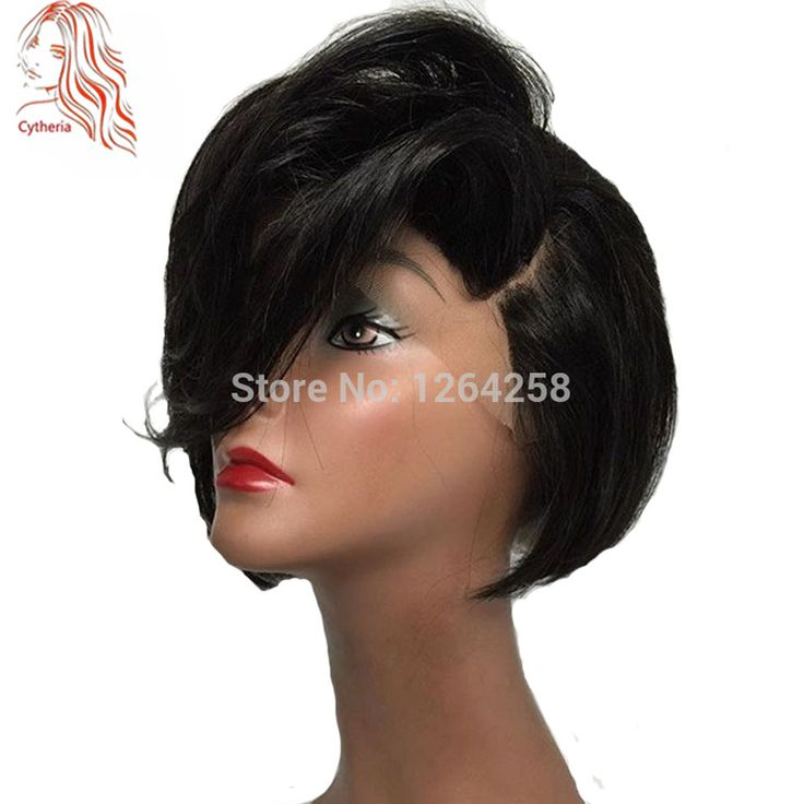"Short Lace Front Human Hair Wigs 150 Densirty Virgin Brazilian Human Hair Full Lace Wigs Short Bob Cut Wig Lace Front Wigs 10""--12"",130 density,straight bob full lace human hair wigs and lace front human hair wigs with bangs  our Store No.1264258 on Aliexpress WhatsApp:+86 15063081830"