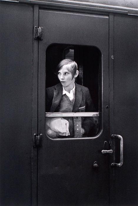 Eva Rubinstein   Girl On Train, London, 1969