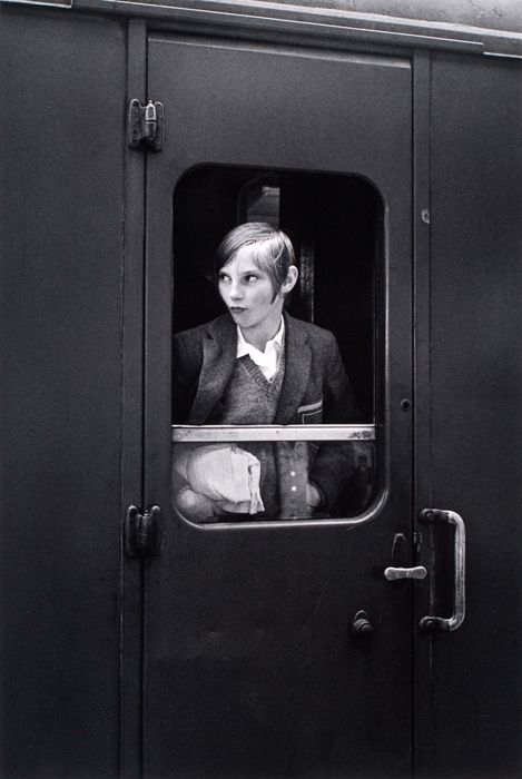 Eva RubinsteinGirl On Train - London, 1969