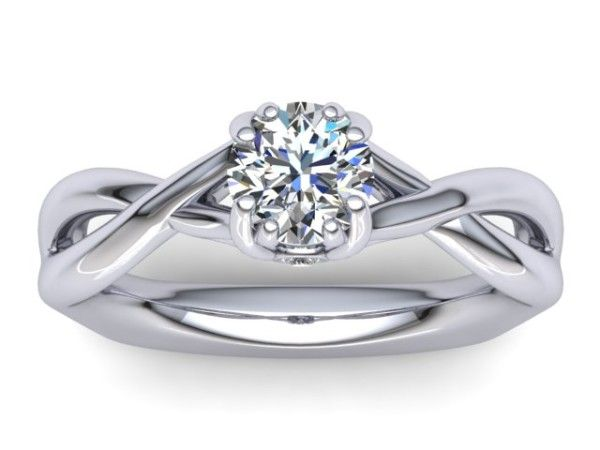 R090 Beatrice solitaire engagement ring