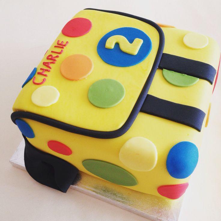 Mr Tumble bag cake