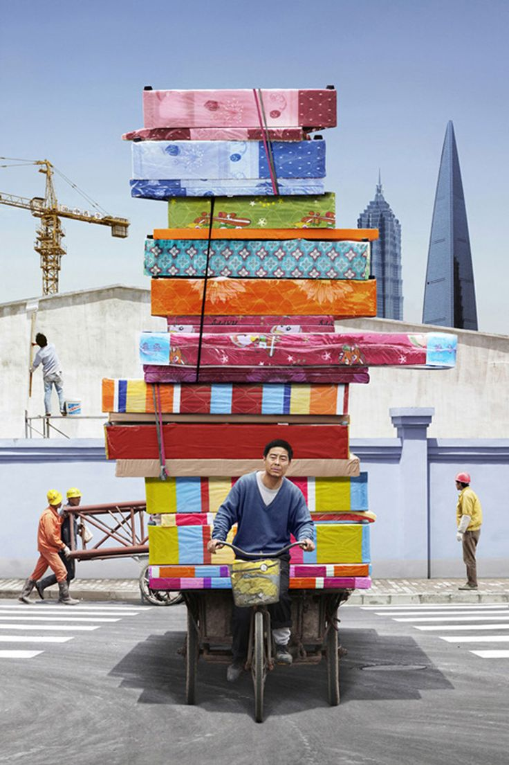 Overloaded, China