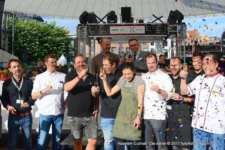 Opening 23e editie Haarlem Culinair door Burgemeester Jos Wienen - https://www.haarlemupdates.nl/2017/08/04/opening-23e-editie-haarlem-culinair-burgemeester-jos-wienen/