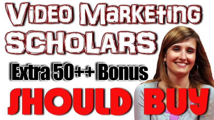 Video Marketing Scholars Review - Get Video Marketing Scholars Best Bonus Access Video Marketing Scholars Now http://jvz8.com/c/41052/136233 Get Video Marketing Scholars Bonus 50+++ products http://makemoneyvideo.net/review/bonus-packaged/