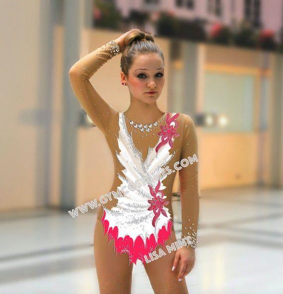 RG ACROBATICA far girare la concorrenza Danza Vestito Custom Ginnastica RITMICA Calzamaglia