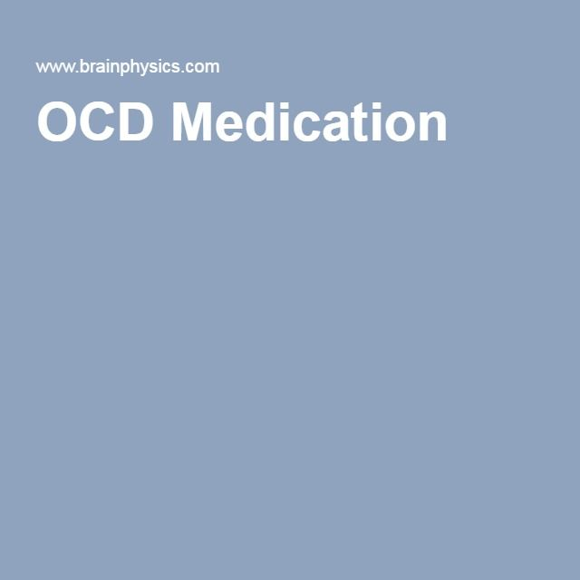 OCD Medication
