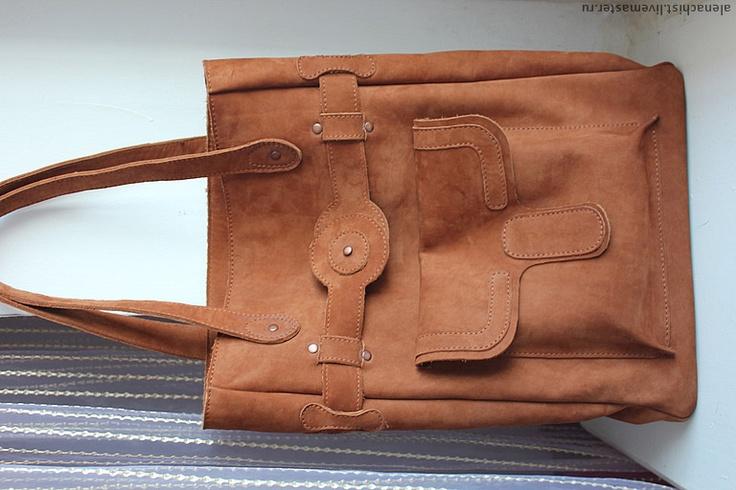 """Кожаная сумка """"Корица"""" - коричневый,Кожаная сумка,женская сумка,сумка из кожи"""