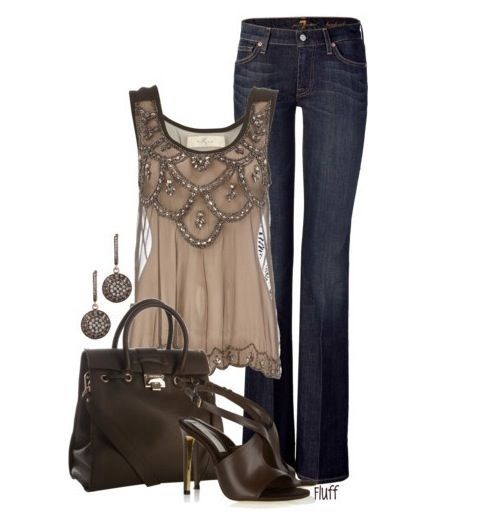 Feminine Tops and Sexy Jeans | Tall, Sexy and Curvy Fashion
