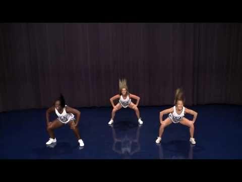 Junior High Tryout Dance Demo UCA - YouTube