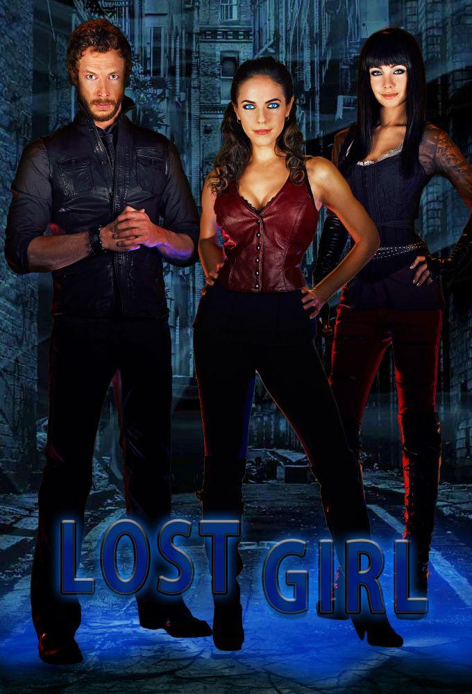 Lost Girl on Syfy (Dyson, Bo, and Kenzi)