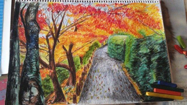 Fall   Pastell