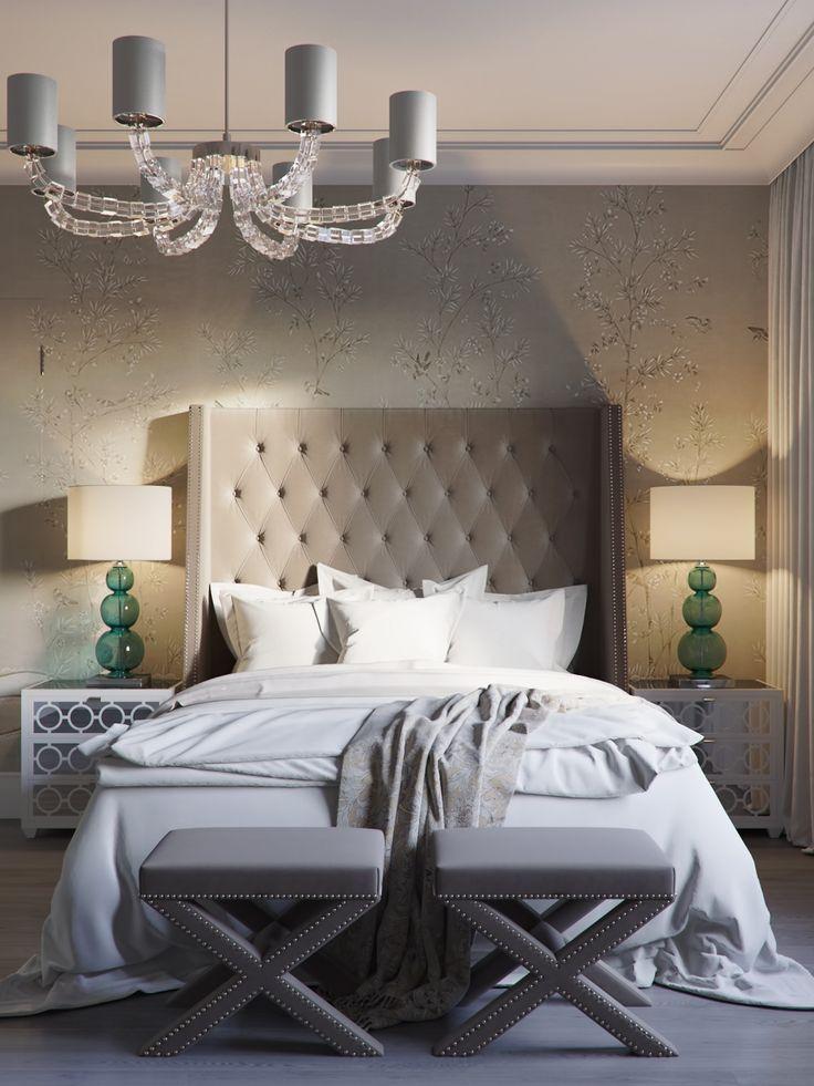 Спальня в классическом стиле - Галерея 3ddd.ru