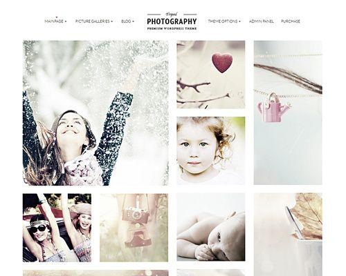 WordPress Photo Gallery Template