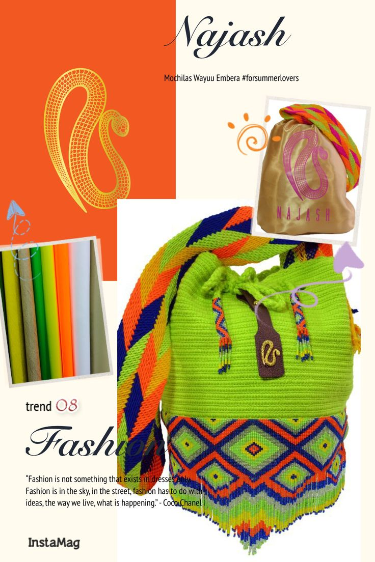 Najash-- handmade-- Colombian Natives --- contact@najash.co