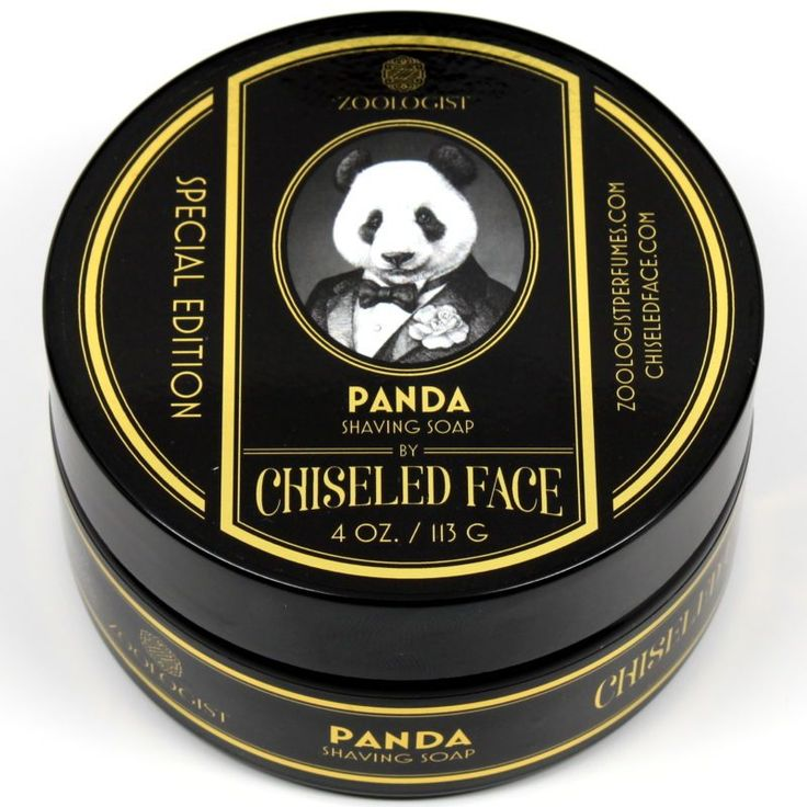From the vendor:  4oz of shaving soap in a heavy, ultraviolet glass jar. Gold foil labels on top and side. While every shave is different, this should last most people about 100 shaves.  An encounter with a lovable panda is as unforgettable as the exotic forest it calls home. Like the majestic mosaic of dewy greens, and enchanting aromas of florals and fruits, this creature exudes a vibrance as light and playful as a Sichuan breeze.  The opening of this oriental fragrance envelops you in a…
