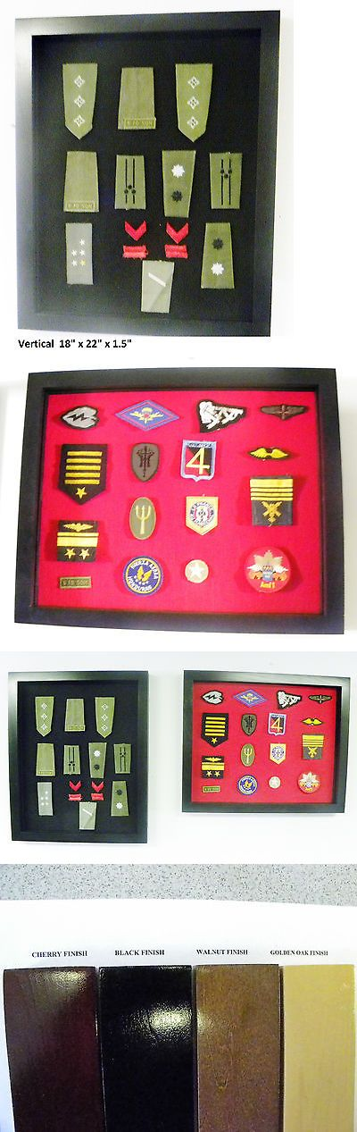 Shadow Boxes 41512: Patches Display Case Millitary Police Horses Patches Shadow Box Cabinet Sm -> BUY IT NOW ONLY: $45.71 on eBay!