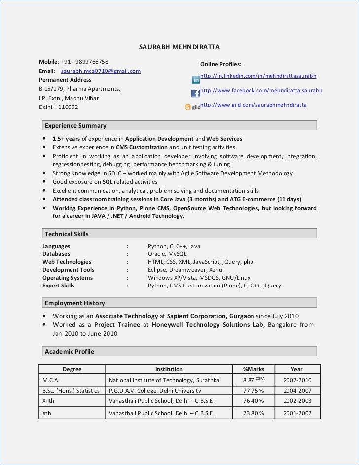 8 best best java developer resume templates  u0026 samples