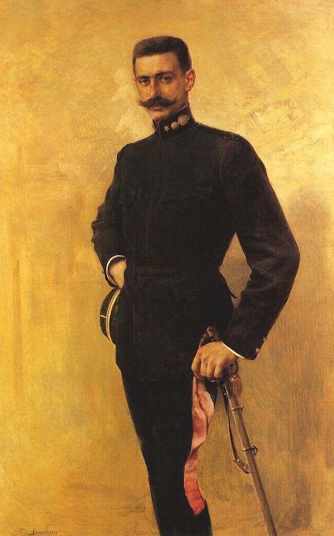 Portrait of Pavlos Melas, Georgios Jakobides